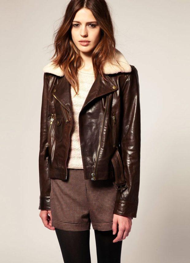 Женская зимняя куртка Пилот