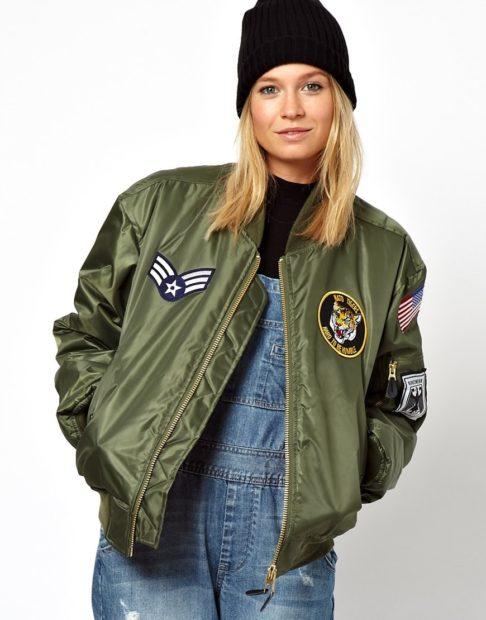 Женская зимняя куртка «Пилот» 2018 2019