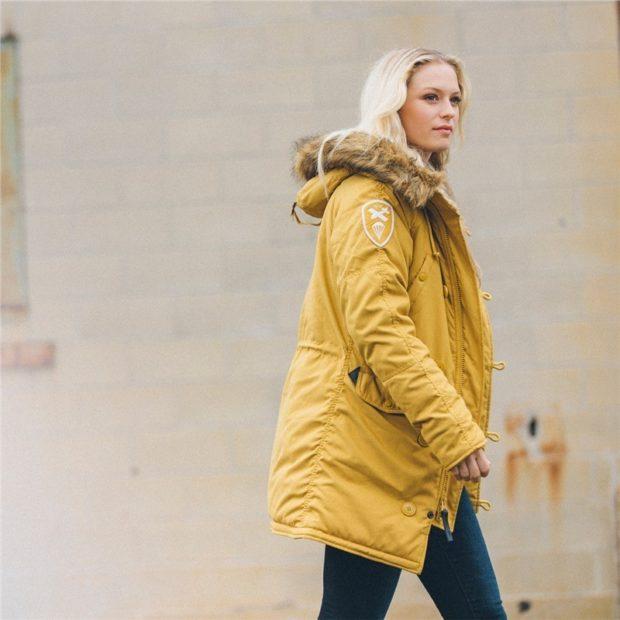 Женская зимняя куртка «Аляска» 2018 2019