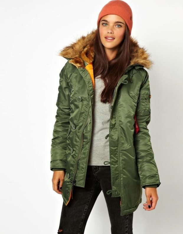 Женская зимняя куртка Аляска