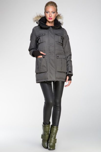 Женская зимняя куртка европейская 2018 2019