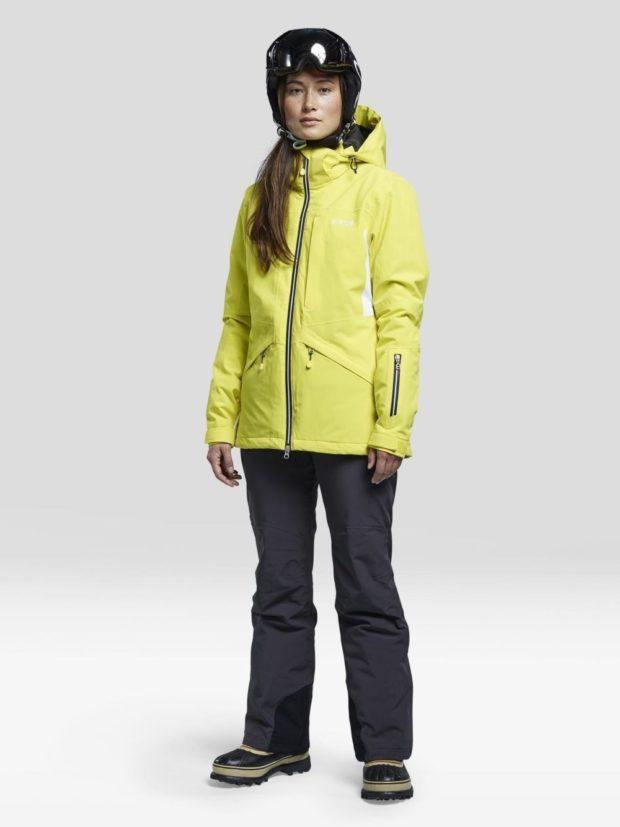 Женская зимняя куртка европейская