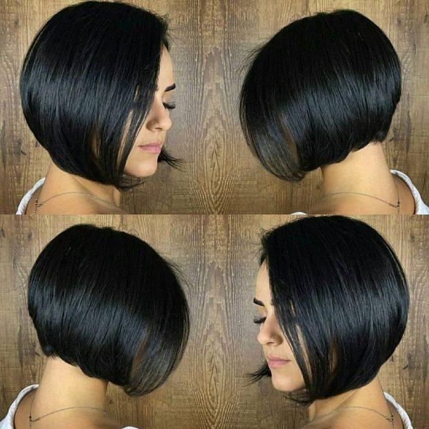 женская стрижка боб: вид сзади и спереди