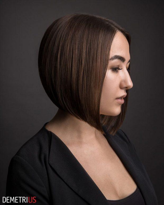 боб каре на короткие волосы
