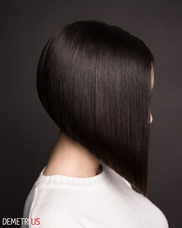 боб каре на средние волосы