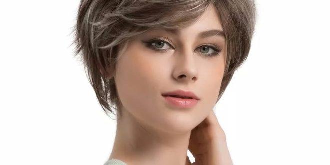 Женские стрижки для круглого лица: на короткие и средние волосы