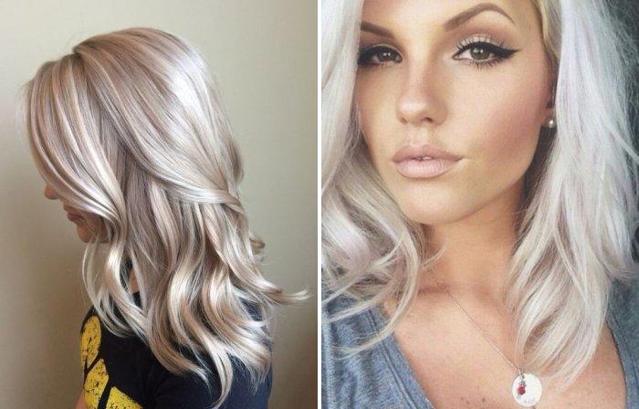 Цвет волос для блондинок кому идет