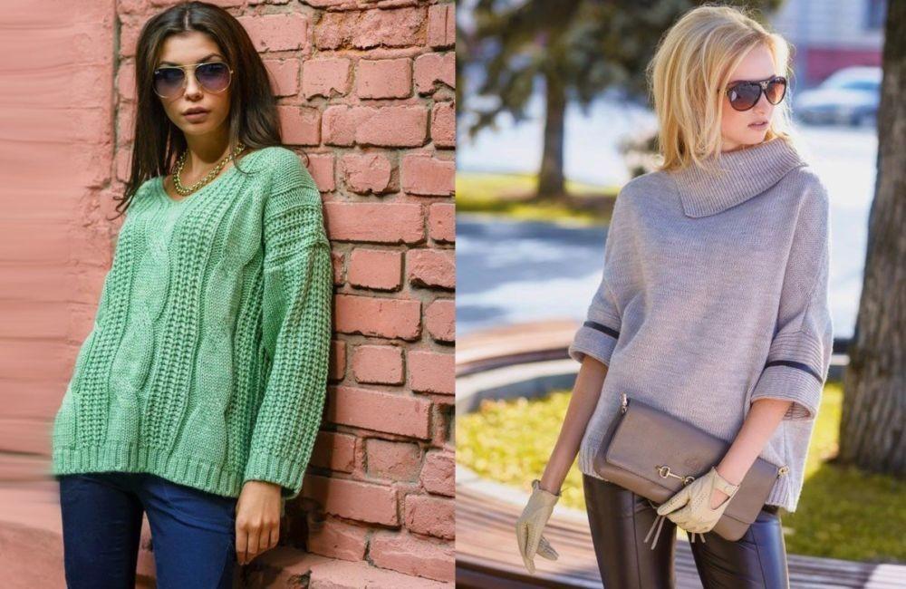 Как связать женский свитер спицами 2018