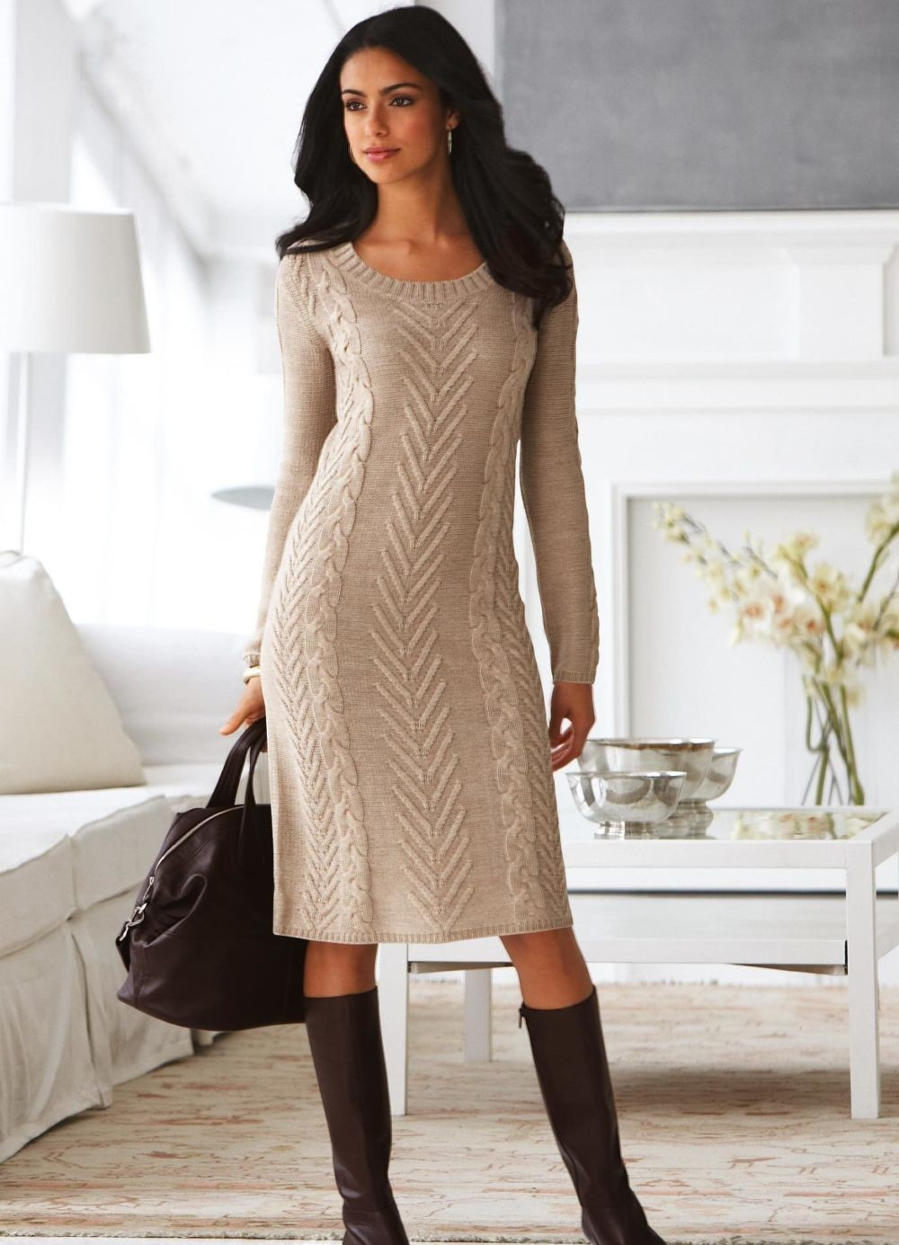 Вязание для женщин платье 31