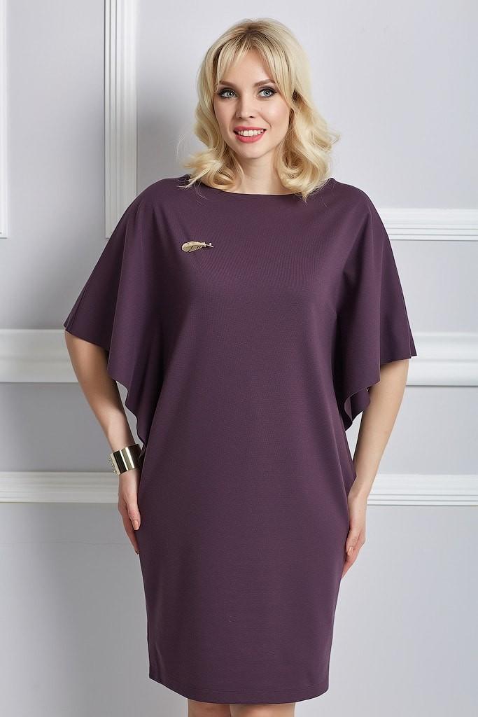 Модели платьев прямых для полных женщин