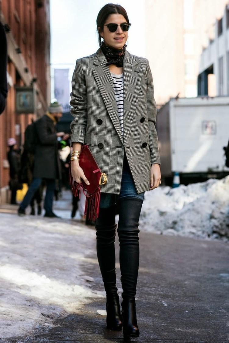 Black and white fashion trend 2018 11