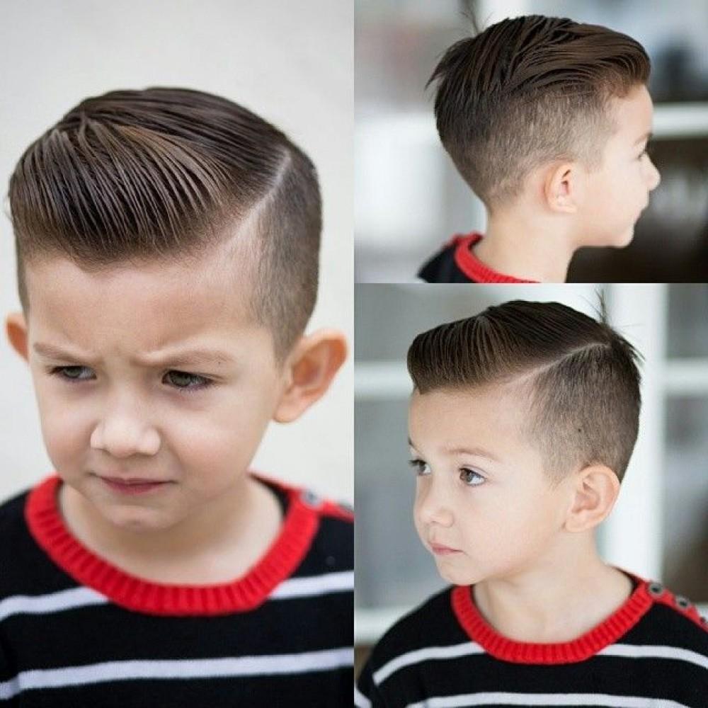 Самые стильные причёски для мальчиков